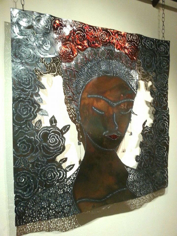 Portrait of Frida Kahlo by Darlene Kerns