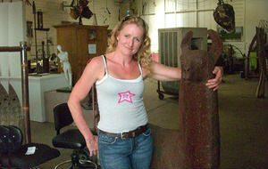 Metal Artist Darlene Kerns