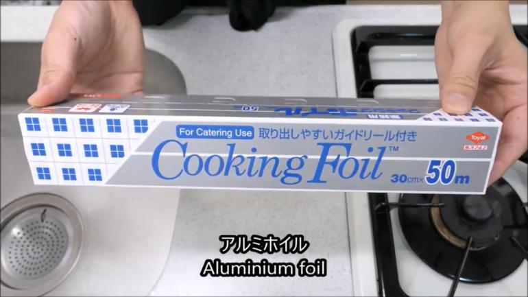 aluminum-foil wabocho
