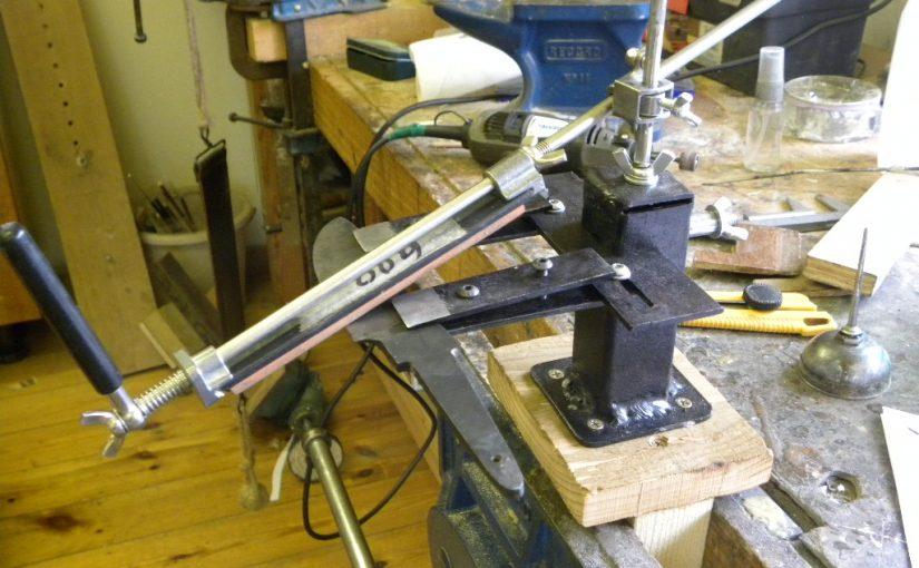 Primitive but effective knife sharpener.