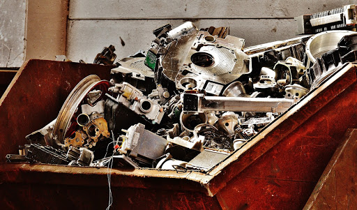 scrap metal recycling reduces air pollution